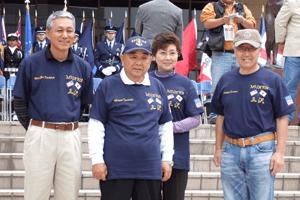 三沢市長ご夫妻とふなみ亮悦