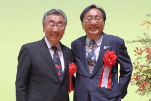 三村申吾県知事とふなみ亮悦