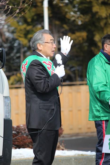 三沢市議会議員選挙 街頭最終日
